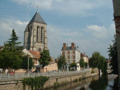 St Spire et l'Essonne