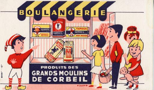 Buvard Grands Moulins de Corbeil